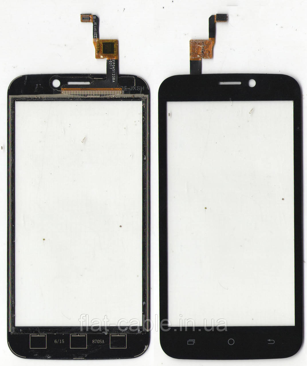 Сенсор Blackview A5 Assistant AS-4421TFP0451238A 126x63mm