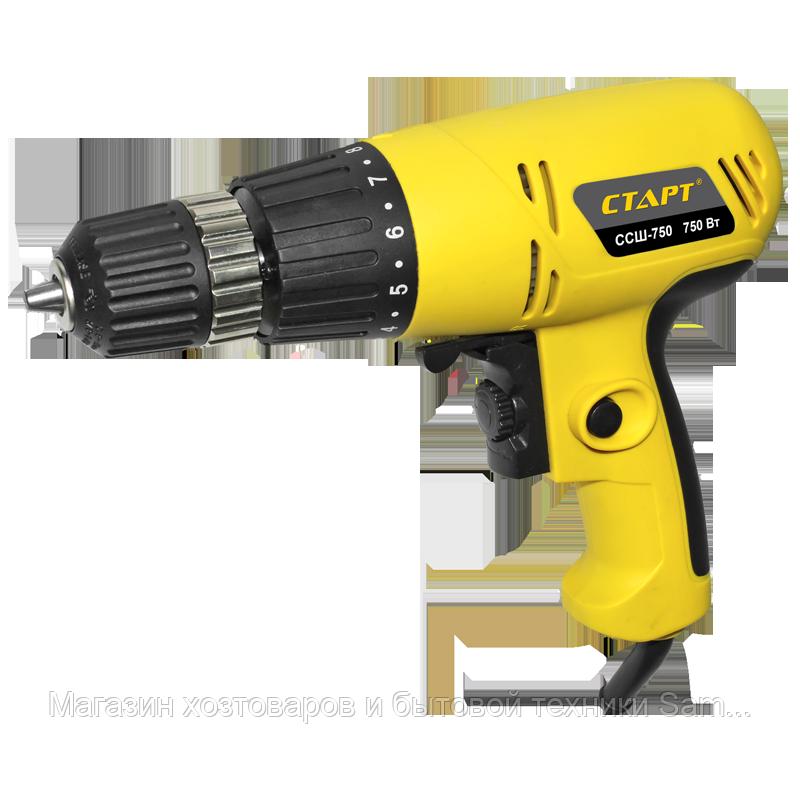Дрель электрическая ССШ-750