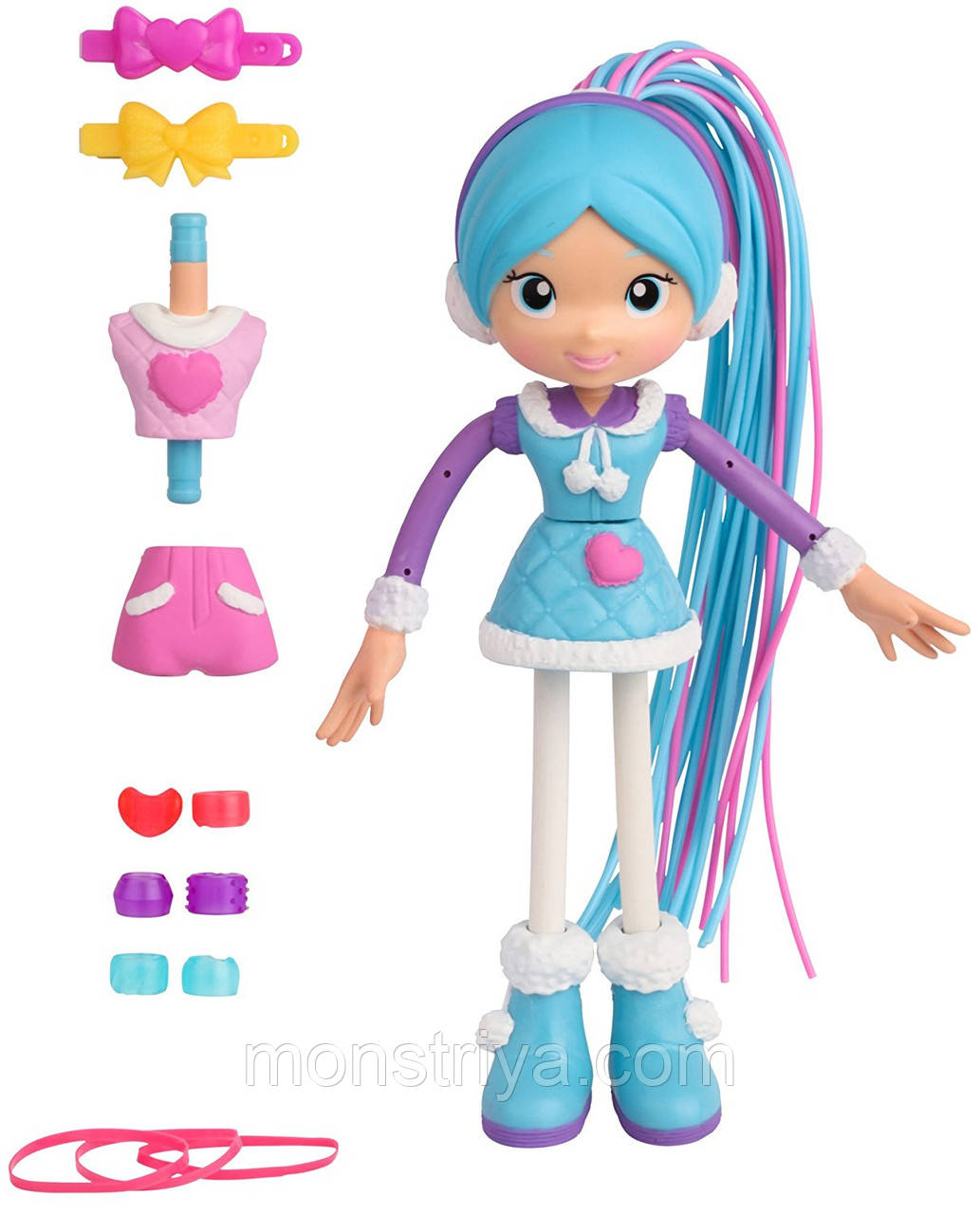 Кукла-конструктор Бетти Спагетти Бэтти Зимний стиль Betty Spaghetty