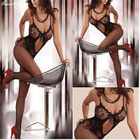 Сексуальное женское бельё сетка. Женское эротическое белье - Боди-комбинезон сетка