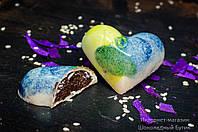 """Шоколадные конфеты ручной работы """"Сердце""""."""