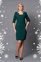 Платье новинка недорого   Моника  больших размеров нарядное в размерах 52, 54, 56  красное