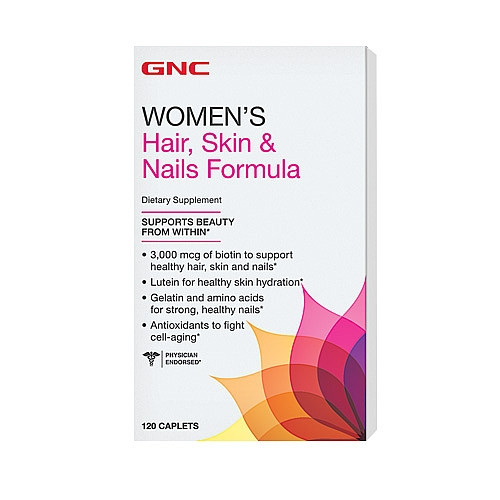 GNC HAIR, SKIN AND NAILS 120 caplets