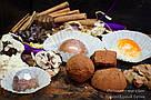 """Шоколадні цукерки ручної роботи """"Трюфель класичний"""", 1 шт, 15 р., фото 5"""