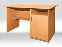 Стол рабочий с тумбой СР-003-1 140x60 см.