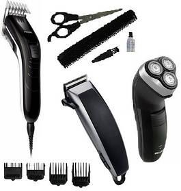 Індивідуальний догляд, бритви, машинки для стрижки, тримери, плойки