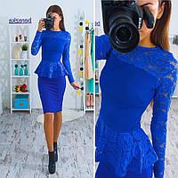 Женский юбочный костюм с баской,топ+юбка,разные цвета!
