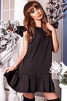 Оригинальное платье черного цвета