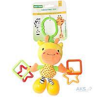 Игрушка Baby Team подвеска вибрирующая  (8541) Жираф