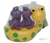 Игрушка Baby Team Набор игрушек для ванны Весёлые друзья (9001)