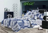 Полуторный комплект постельного белья «Пэчворк», ранфорс