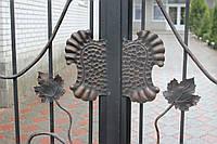 Распашные ворота кованые, фото 1