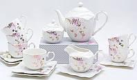 Чайный сервиз Spoleto-12 15 предметов на 6 персон, фарфор, 220мл
