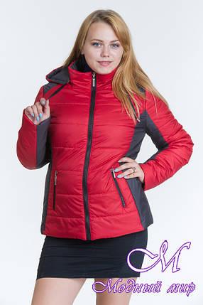 Женская весенняя куртка большого размера (р. 44-64) арт. Куртка № 15, фото 2