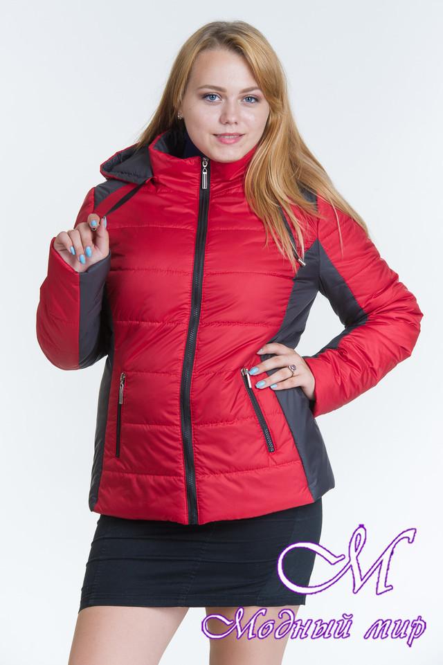 Женская весенняя куртка большого размера (р. 44-64) арт. Куртка № 15