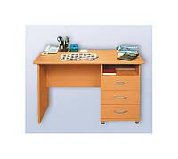 Стол рабочий с 3-мя ящиками СР-002 140x70 см.