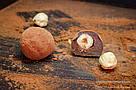 """Шоколадные конфеты ручной работы """"Трюфель с фундуком"""", 1 шт, 15 г., фото 3"""