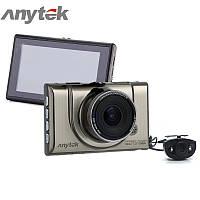 Автомобильный видеорегистратор Anytek A100H на 2 камеры HDMI