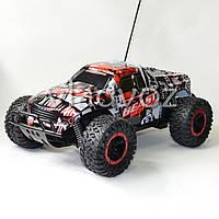 Джип машинка на радиоуправлении скоростной внедорожник красная Slayer Beast