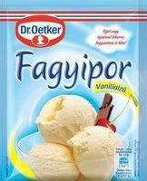 Сухие сливки dr.Oetker для приготовления мороженого 70гр.Ваниль