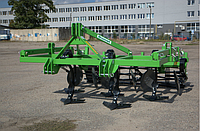 Культиватор 3,8 м. стойка на пружине (лапы стрельчатые + диски + каток) BOMET (Польша), фото 1