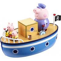 Игровой набор PEPPA Морское Приключение (кораблик, 3 фигурки) (15558)