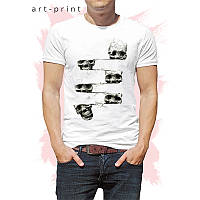 Крутая футболка Искаженный Череп, фото 1
