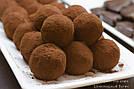 """Шоколадные конфеты ручной работы """"Трюфель с мятой"""", 1 шт, 15 г., фото 5"""