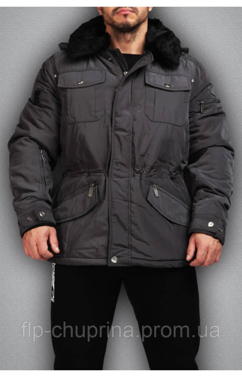 Зимняя мужская спортивная куртка