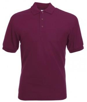 Мужская футболка поло бордовая 402-41