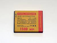 АКБ Avalanche для Samsung S5360,S5300,S5312,S5380,S6102,i8530, Galaxy Y Duos,Galaxy Y, Wave Y - 1500