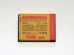 АКБ Avalanche для Samsung S5360,S5300,S5312,S5380,S6102,i8530, Galaxy Y Duos,Galaxy Y, Wave Y - 1250
