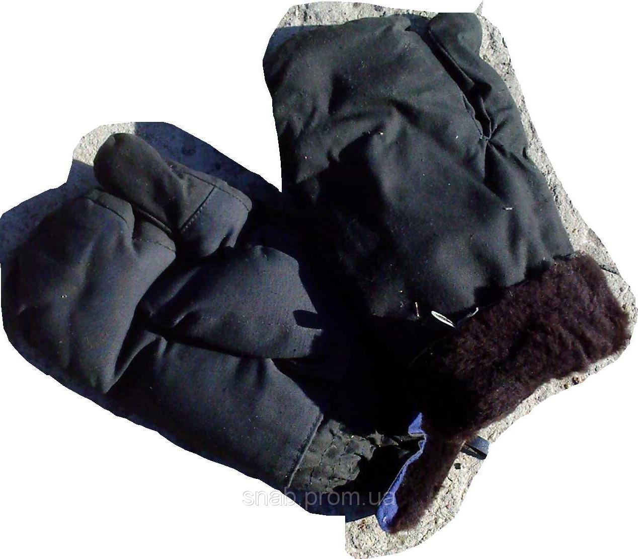 Меховые  рукавицы для рыбалки