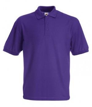 Мужская футболка поло фиолетовая 402-РЕ