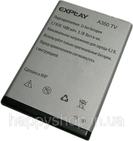 Оригинальная батарея Explay A350TV