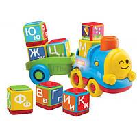 Развивающая игрушка Bkids Поезд - алфавит (04357)