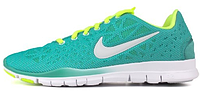 Женские кроссовки Nike Free Run TR Fit 2 (найк фри ран) голубой