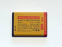 АКБ Avalanche для Samsung C5212; B100; B200; C3212; C3300; C5130; E1130; E2120; E2121 - 1000 мАч