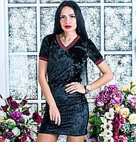 Женский костюм юбка+футболка в расцветках