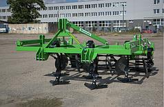 Культиватор 2,2 м. стойка на пружине (лапы стрельчатые + диски + каток) BOMET (Польша)
