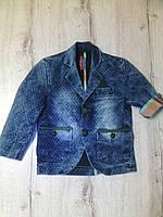 Детский джинсовый пиджак для мальчика 11051