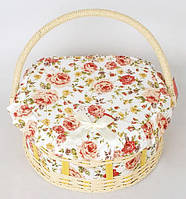 "Шкатулка для рукоделия ""Мастерица Provence Basket"", 26.5x23.5x13см"