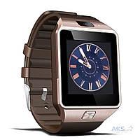 Умные часы SmartWatch DZ09 Bronze