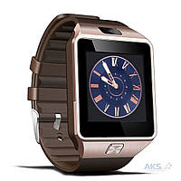Умные часы UWatch Smart DZ09 Gold