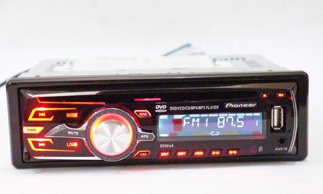 Автомагнитола DVD Pioneer DEH-8250UBG, съемная панель, 4х50W - Plus в Одессе