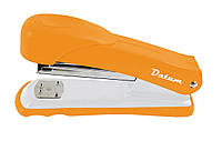 """Степлер """"Datum""""  №2021-11 металл, оранжевый №24\6 20листов"""
