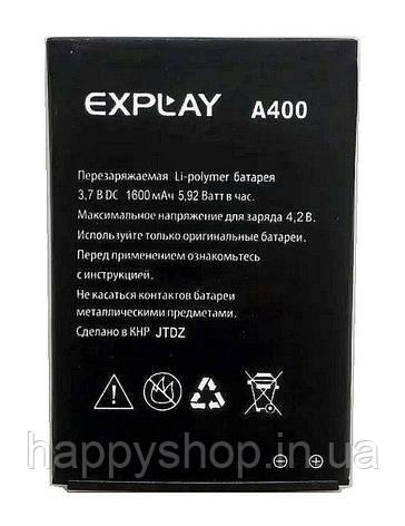 Оригинальная батарея Explay A400, фото 2