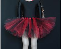 Спідниця дитяча фатиновая різнобарвна з шпульок,, фото 7