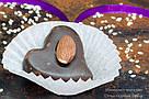 """Шоколадные конфеты ручной работы """"Марципановое сердце"""",1 шт, 20 г., фото 4"""