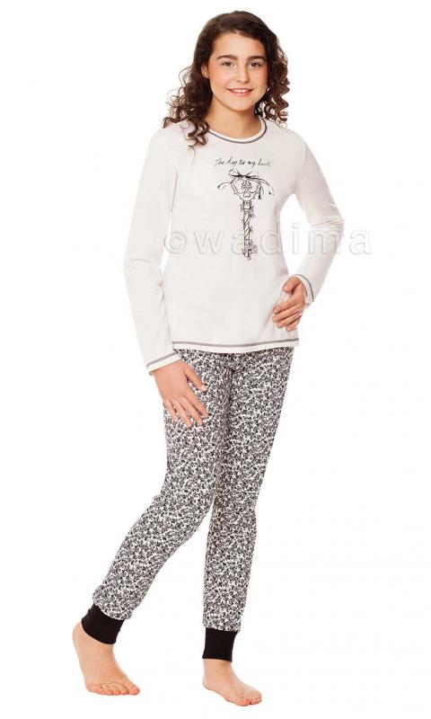 Підліткова піжама для дівчини Wadima 70454